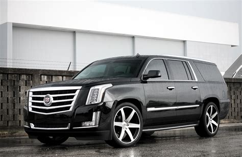 cadillac escalade black rims image gallery lowered escalade 2015