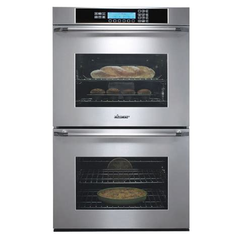 wall oven cabinet lowes shop dacor 30 in self cleaning convection electric