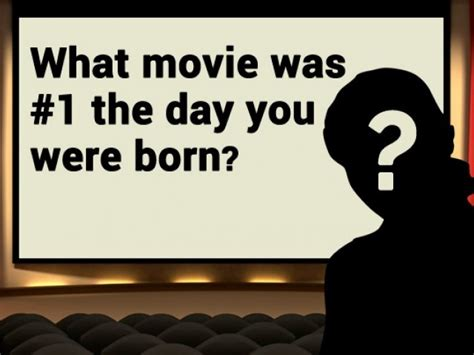 number one film the day i was born what movie was 1 the day you were born
