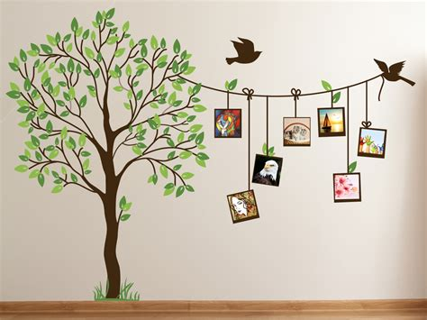 wall decoration paintings family photo tree creative wall decal home decor india
