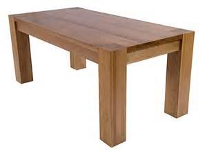 Washington 140cm chunky oak table