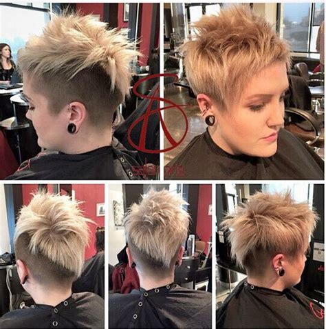 imsges of spiked sort hair parted in middle 30 hottest simple and easy short hairstyles popular haircuts