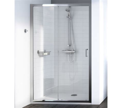 Aqualux Shower Doors Aqualux Source 1700mm Sliding Shower Door 1192776