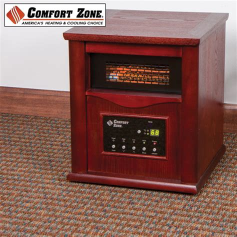 comfort zone heater repair comfort zone wood cabinet infrared heater bf deals
