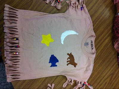 thanksgiving indian vest best of kindergarten tee shirt made into an indian shirt thanksgiving ideas