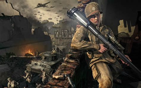 wallpaper game war waiting for tank with an rpg launcher medal of honor
