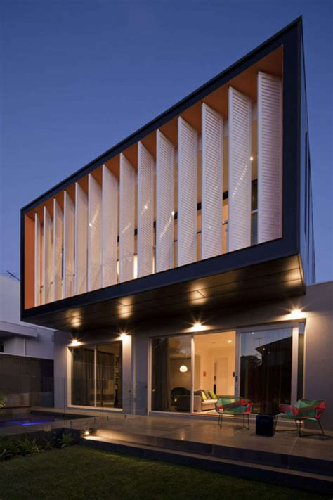 textured front facade modern box home 35 cool building facades featuring unconventional design