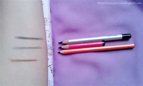 Pensil Alis Dan Maskara Wardah dessy journal review battle pensil alis viva eyebrow pencil pixy eyebrow pencil wardah