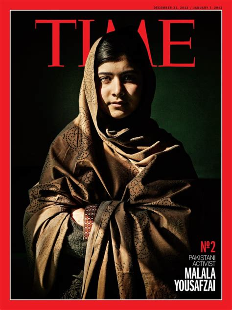 runner up malala yousafzai time s person of the year