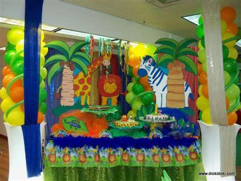como decorar un salon de selva ideas para fiesta de la selva 5 decoracion de fiestas