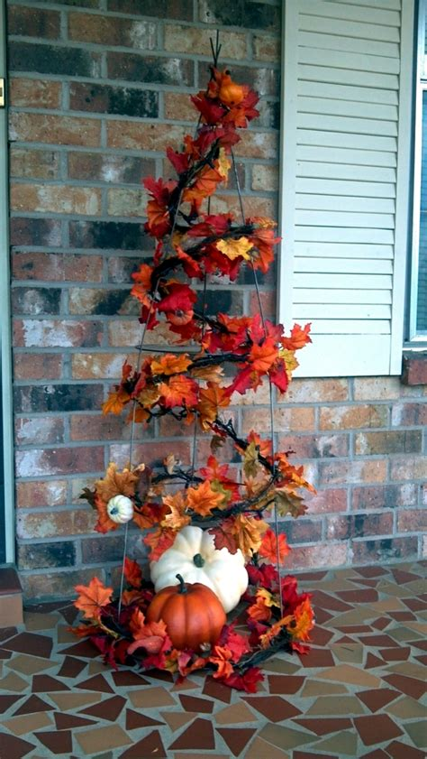 colorful autumn decoration  leaves craft ideas