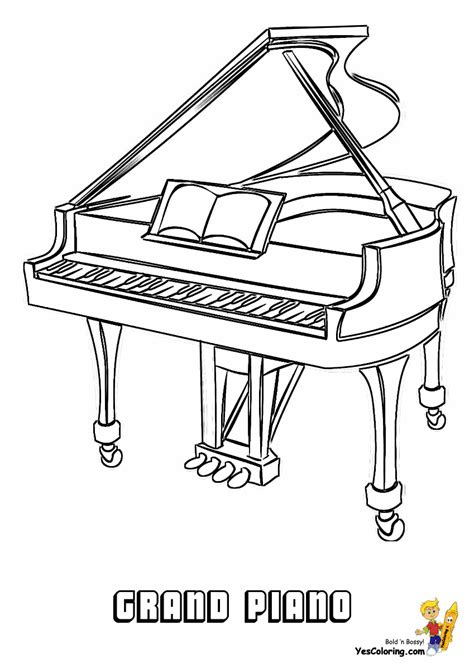 piano coloring pages free p is for piano coloring pages