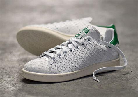 Adidas Daily Premium the adidas stan smith is releasing in premium python snake