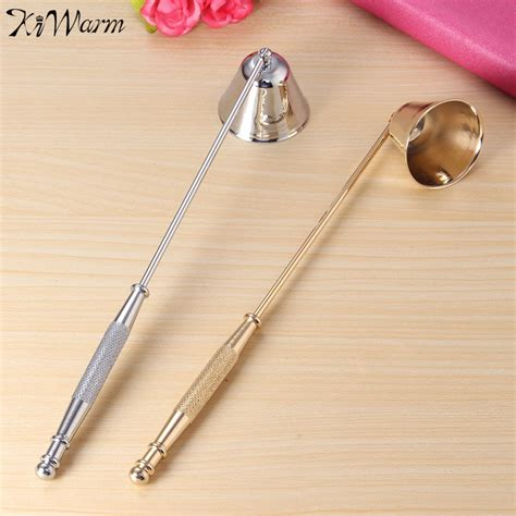 Promo Cetakan Lontong Stainless 20cm kiwarm 1pc selling 20cm stainless steel candle snuffer wick trimmer bell shaped l