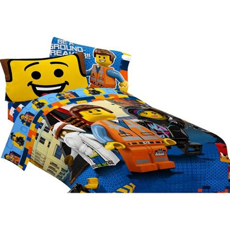 lego comforter set twin lego movie twin full comforter and sheet set 4 piece