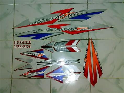 Stiker Warning Suzuki Satria Fu cutting stiker satria fu terbaru kumpulan 2012
