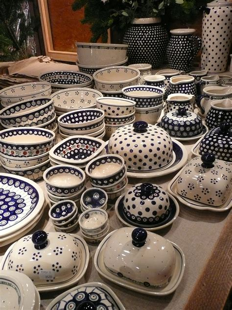 Handmade In Poland Pottery - visit pottery festival in boleslawiec poland in
