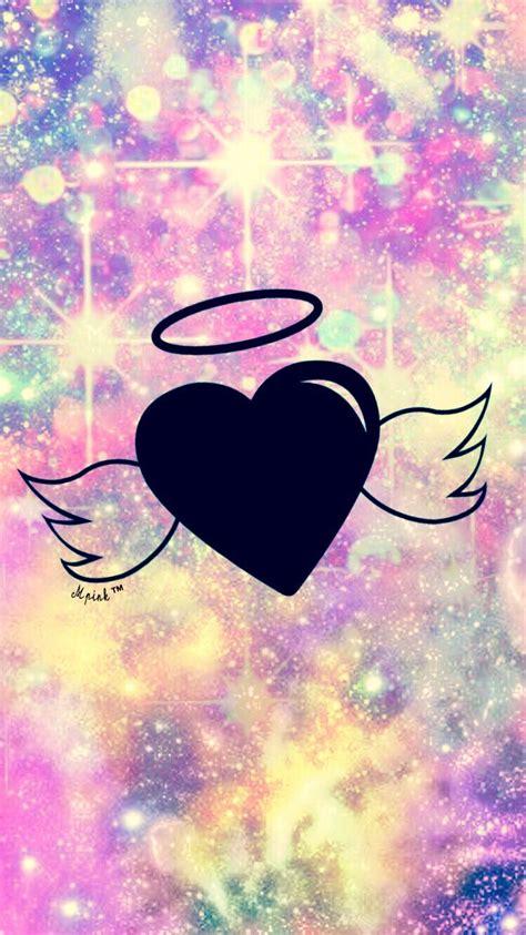 bokeh angel wings wallpaperlockscreen girly cute