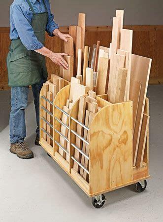 Mobile Lumber Storage Rack Plans by Best 25 Lumber Storage Ideas On