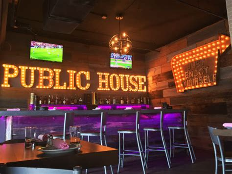 public house fort lauderdale new indoor outdoor bar and new menus at himmarshee public house