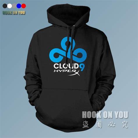 T Shirt Mens Cloud Nine team cloud9 hoodies sweatshirts fleece cloud 9 gaming clothing coat jacket in