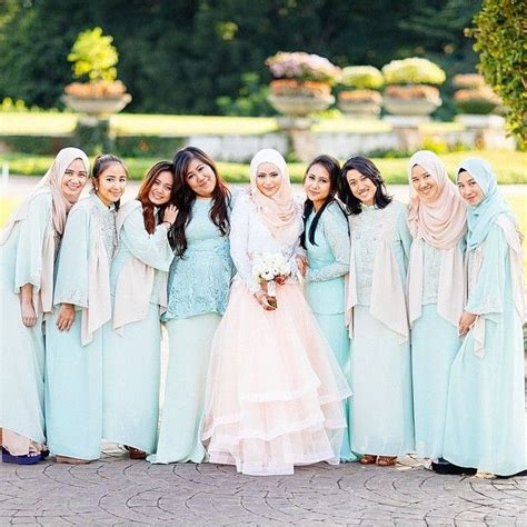 Longdress Unyu 17 best images about muslim bridal niqab bridesmaids on muslim wedding
