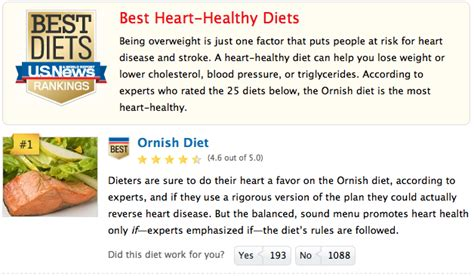 Dean Ornishs Diet by Category Ornish