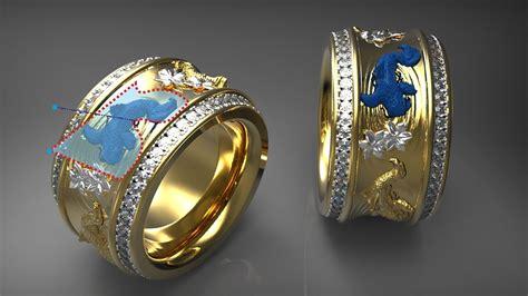 jewelry design maker software 3d jewellery design software artcam jewelsmith youtube