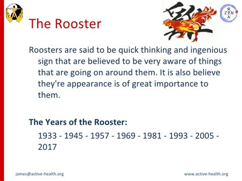 new year meaning of rooster zodiac