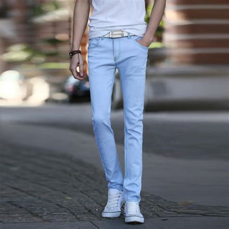 light blue slacks mens baby blue pants men pant so