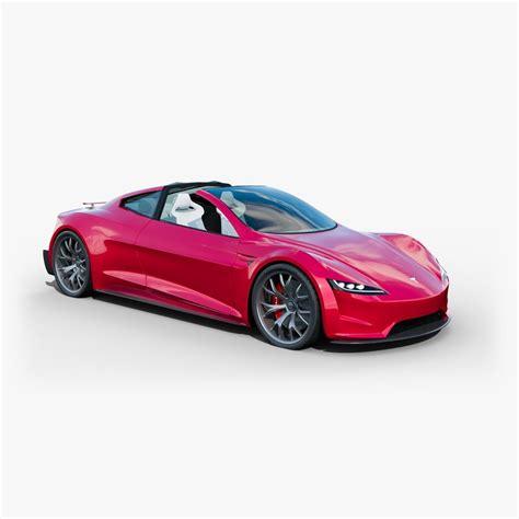 New 2020 Tesla by 3d Model New Tesla Roadster 2020 Turbosquid 1258282