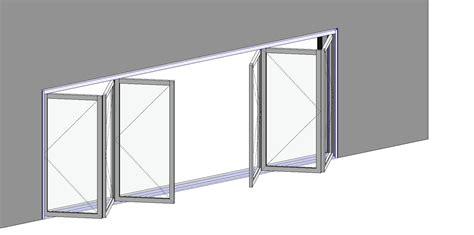 Glass Folding Door Bim Objects Families