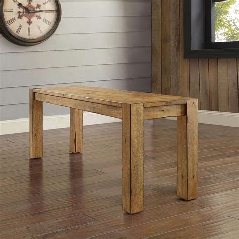 better homes and gardens bryant dining table rustic brown nonconfig