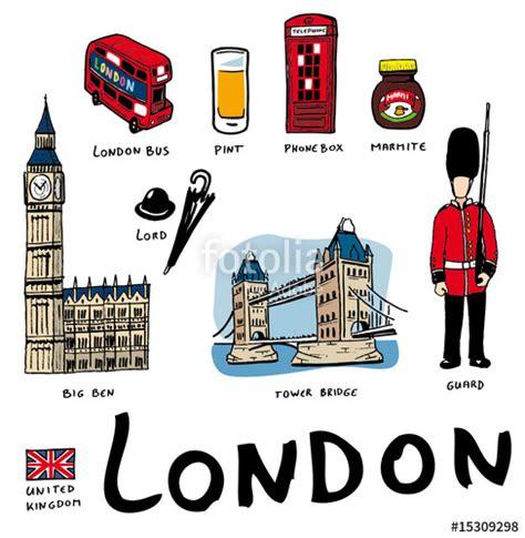 Quot Lots De Dessins Vectoriels De Symboles De Londres