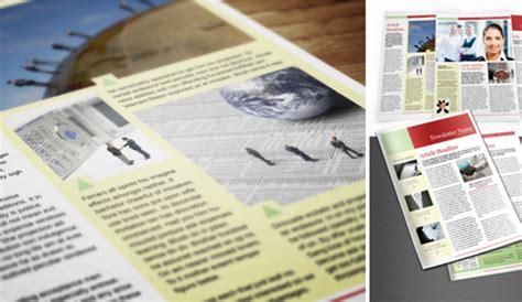 4 adobe indesign newsletter templates af templates