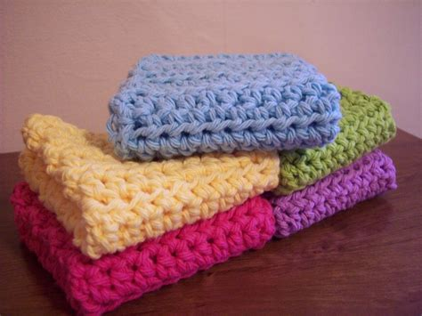 pattern crochet washcloth simple and practical crochet dish cloth washcloths