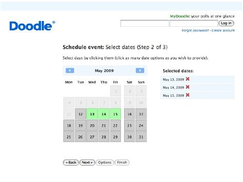 doodle schedule tool scheduling tools doodle and more