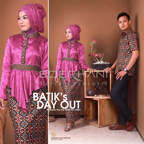 Syakila Batik by Syakila Syam Pink Baju Muslim Gamis Modern