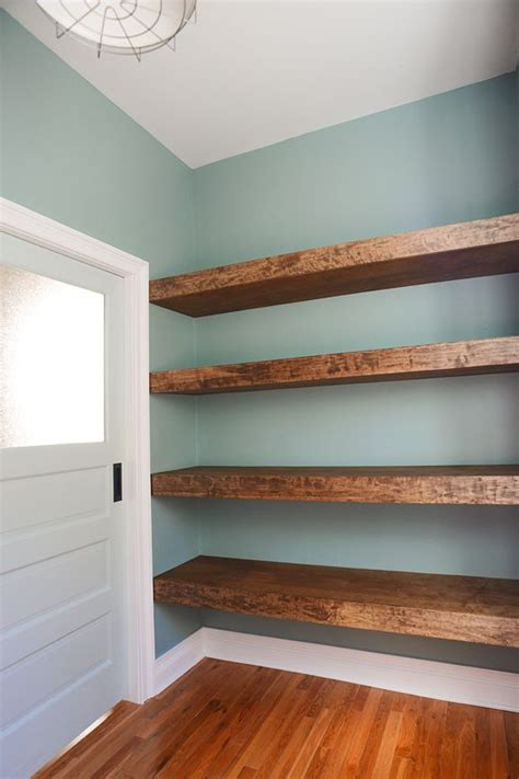 25 best ideas about reclaimed wood shelves on