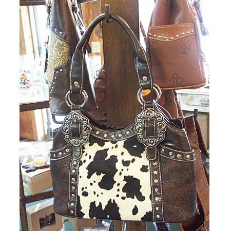Cowhide Leather Purses - 1000 ideas about cowhide purse on western