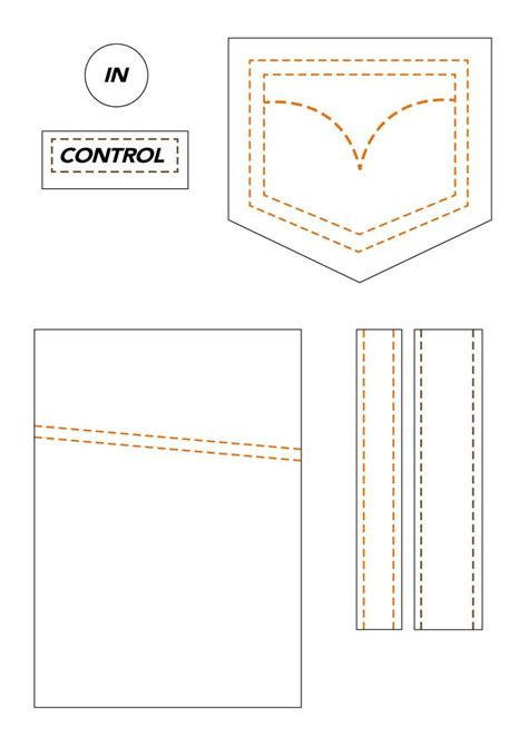 Cards And Pockets Free Templates by Stitched Pockets Labels Templates Cart 245 Es