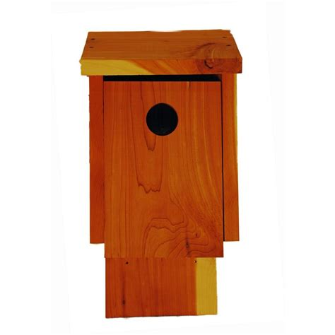 cedar blue bird house 2013024bhnc the home depot