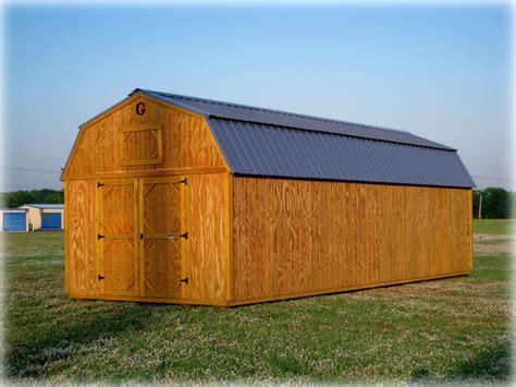 graceland lofted barn discount portable buildings