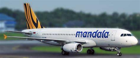 Tiket Mandala tiket pesawat mandala tiger cari harga murah tiket mandala promo
