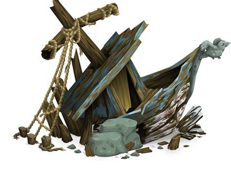 kostenlose vektorgrafik schiffswrack schiff aufgegeben - Sw Boat Runescape