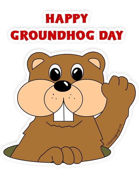 groundhog day type groundhog clip 65218