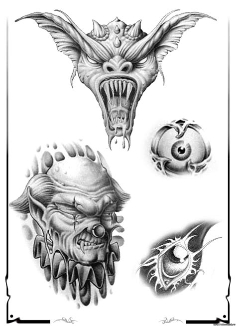 demon ink tattoo 101 designs ideas with meanings