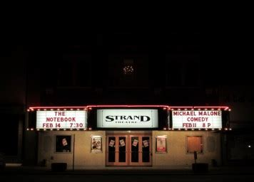 let there be light theaters strand theatre 187 michael malone comedy dvd filming