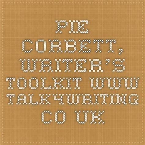 pie de co in english pie corbett writer s toolkit www talk4writing co uk