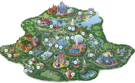 disney resort map choosing a disney world resort hotel disney world discussing parks resorts discounts